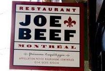 Montreal restaurants... Bon appetit!  / by Marisa Carlone