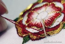 Embroidery Patterns & Stitches / I do not own these designs. I just like and admire them. / by Tina Bouman