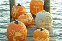 Fall Decor (Coastal) / Decorating ideas for celebrating Fall by the sea. / by 'Tis The Season