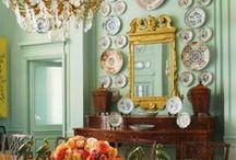 Beautiful Interiors - Dining Rooms / by Carol Farrow