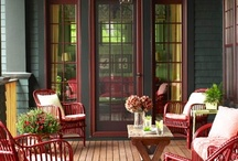 Beautiful Porches and Patios / by Carol Farrow