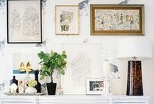 Living room inspiration / by Amber McMullin