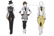 Fashion- SteamPunk  / by Jenn Ralph
