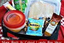 Back to School Lunch Ideas! / Lunch ideas for School! / by Dallas Single Mom