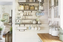 Inspiration: Kitchen / Inspiring ideas for my new kitchen that desperately needs a makeover! / by Erin McLaughlin