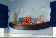 Inspiration: Baby Boy's Bedroom / My infant, soon to be toddler, son's bedroom / by Erin McLaughlin