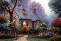 Thomas Kinkade / by Carol Mingus