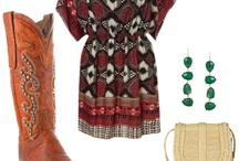Lonestar Style / Our Polyvore Collection on Pinterest! http://allensboots.polyvore.com/ / by Allens Boots