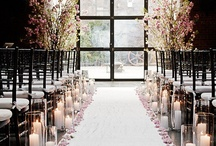 Aisle decorations / by Wedding Decorator
