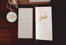 invitations, stationery & paper / by Vignette Design