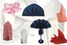 Napkin/Towel Folds / by Teresa Hasty