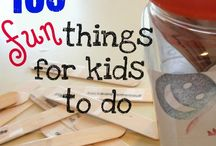 For the Littles  / Activities for the littles I baby sit as well as my own littles ♡  / by Heather