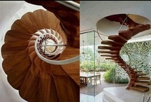 Interior Design: Hallways & Stairs / Hallways: The first impression that someone will have of your home - Create a great first impression! / by Alexandra Karina Rodriguez~Castro