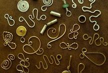 Wire / Metal / Jewelry DIY / by Sandy Bernard