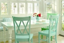our nest: dining areas / by Alicia B.