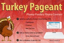 Thanksgiving extravaganza / Submit a photo of your most festive dish! Enter our Facebook photo contest for a chance to win one of the 3 Internet-connected bathroom scales (Wireless Scale) at stake! Copy/paste this link to land on the contest page. https://www.facebook.com/withings/app_244041225639079  / by Withings