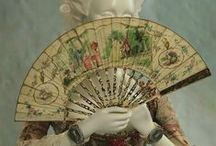 History - 6. Fans & Parasols / Fans and parasols of all periods / by Emy Magpie