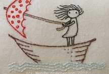 Crafty Ideas:  Embroidery / by Gail Wood