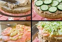 Food, glorious food - Smörgåstårta / by Andrea Jane