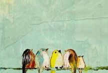 Canvas painting / by Bridget Sharp