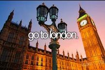 London / The Square Mile. From Big Ben to the London Eye, InsureMyTrip pin's the Big Smoke. / by InsureMyTrip