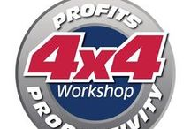 4x4 Profits & Productivity Workshop - October 14, 2014 / Sponsors that will be showcasing their businesses at the Sponsor Expo for the #4x4workshop #actioncoachtally #markraciappa Register today! www.4x4workshop.eventbrite.com   / by Audrey Bell