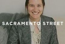 "Guest Curator: Sacramento Street / Caitlin Flemming is a designer, stylist, and founder of the blog Sacramento Street. Her exposure to high-end interior design built her eye to what it is today. Caitlin's work combines her love of mixing old with new, and her aesthetic is clean, crisp, and layered. Caitlin picked her favorite pieces from our online art gallery that fit her motto: ""living with great style.""  / by UGallery"