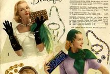 1950s Accessories / Hats, gloves, bags, shoes etc.. from the New Look (1947) through the 1950s. / by Retro Seamstress