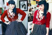 A Retro Closet / New clothes with a retro flavor. Primarily mid-century fashions, with some 20's and 30's thrown in for good measure.  / by Carter Brown