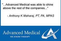 Traveling Therapist Testimonials / Here are some of our traveling therapists and what they have said about taking travel assignments with Advanced Medical. / by Advanced Medical