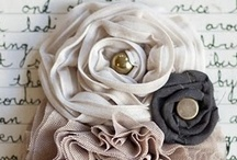 Fabrics, sewing . . . / by Evelyn Flores