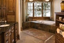 Spaces - Bathrooms / by Connie Iannello