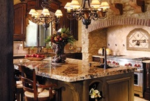 Spaces - Kitchens & Space Saving Ideas / by Connie Iannello