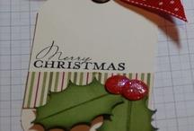Craft *  ATC/Card/Tag Christmas / by Charlotte Brennan