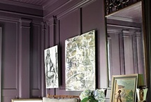 Purple / interior design color inspiration / by Jill Croka