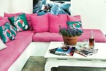 Pinks / interior design color inspiration / by Jill Croka