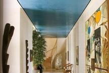 Blues / interior design color inspiration / by Jill Croka