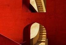 Reds / interior design color inspiration / by Jill Croka