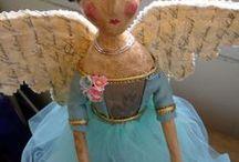 handmade dolls / by Wanda Lebron
