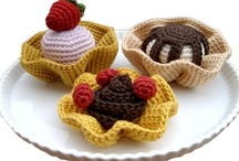 Doll, Amigurumi, DIY Craft food toys / by Robin