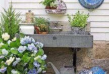 outside/ gardening / by Corrie Jape