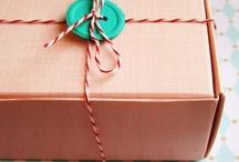 packaging / by Elizabeth Grover