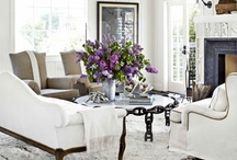 Spaces: Living Room / by Alli Addison