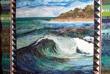 Quilts-Art/Landscape&Seascape / by Kim Grace