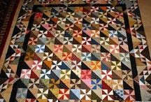 Quilts-Pinwheel / by Kim Grace