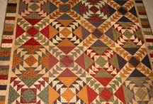 Quilts-Flying Geese / by Kim Grace