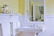 bathroom revamp / by Marie Bitsandclips