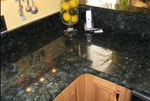 countertops and backsplashes / by Janet Marsh