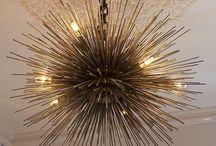 Lighting - Chandeliers Pendants / by Ruta Menaghlazi