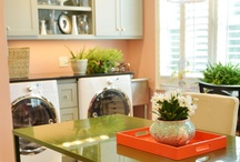 Lovely Laundry Rooms / One needs a beautiful space to do laundry in. / by Amanda Barnett